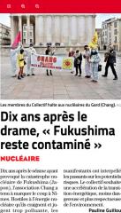 Fukushima, chang, Nimes
